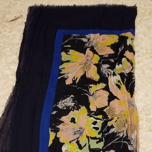 Nanette Embroidered Scarf